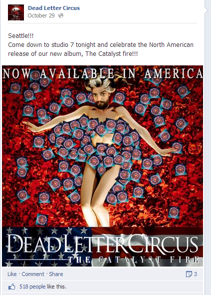 Dead Letter Circus has taken Photoshop to a new level.