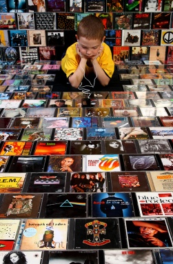 Bands can still sell CDs at shows, but you have to think differently.