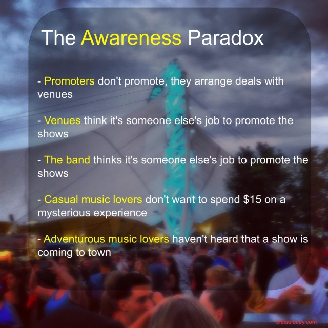 The Music Awareness Paradox